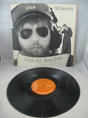 "Nilsson - ""duit On Mon Dei"" - Uk Press + Inner Sleeve Gatefold - Mint Unp"