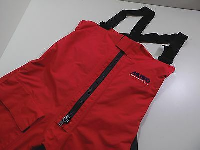 MUSTO MPX Offshore Salopettes Ocean Trousers Waterproof PRO Sailing - Small
