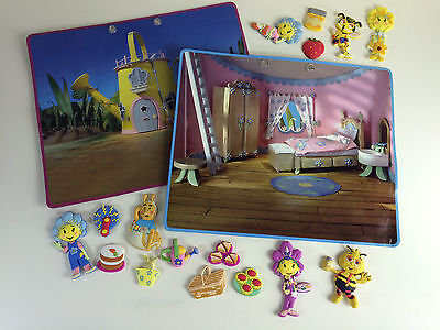 Fifi & The Flowertots Magnetic Boards + Magnets, 2 Boards/16 Magnets