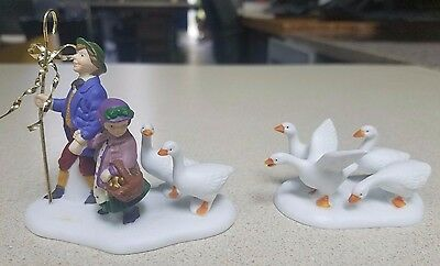 Department 56 Twelve Days of Dickens 'Six Geese A Laying' - SPECIAL!!