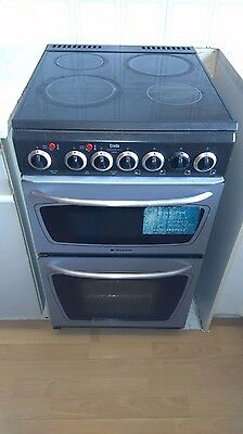 Creda Double Cooker with fan oven and electric hob COLLECTION ONLY