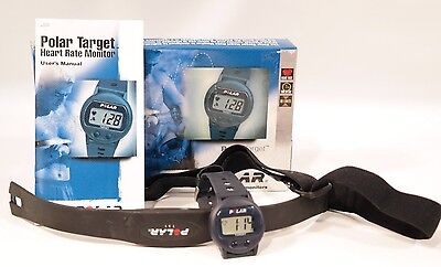 Polar Target Fitness Heart Rate Monitor Watch LCD Wireless Chest Strap