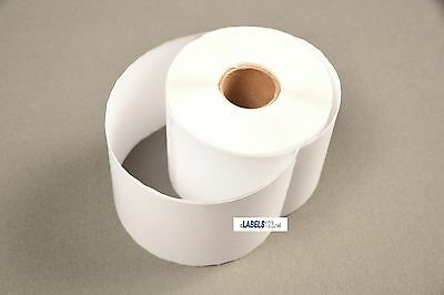 "3 Rolls White Paper 99019 Dymo® Duo Compatible Postage Labels - 2-5/16"" x 7-1/2"""