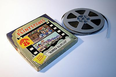 Hanna-Barbera The Flintstones ► Bedrock Hillibillies Super 8 Cartoon Film + PIN