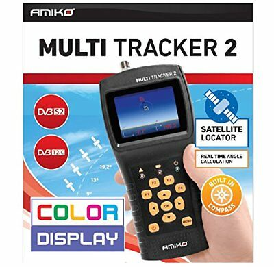 AMIKO MULTI TRACKER 2 Satellite Finder Meter DVB-S / S2 / T / T2 / C