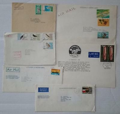 Samoa 1966-82 Group 12 Covers, Airmail Etc