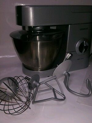 Kenwood Chef Premier Food Mixer System KMC570 Silver 1000W