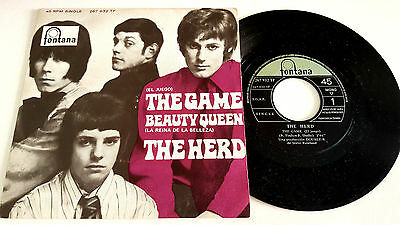♫ Ep ★ The Game ★ The Herd ★(Spain 1969)★ Vinilo 45 Rpm ♫