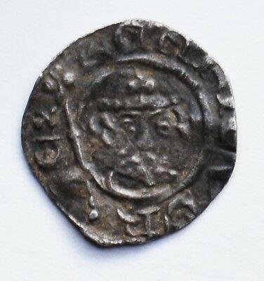 "RIchard I ""The Lionheart"" Silver Penny (1189-1199) - CANTERBURY Mint"