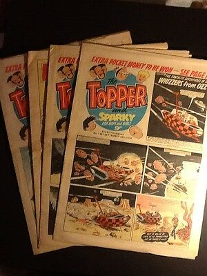 Topper and Sparky old comics 1979