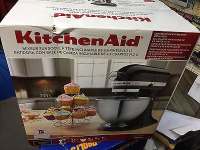NEW KitchenAid K45SS 4.5 Quart Classic 250 Watts Stand Mixer BLACK