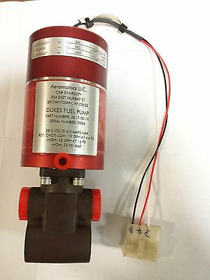 Dukes Dual Speed Electrical Fuel Pump Part Number 5217-00-1R