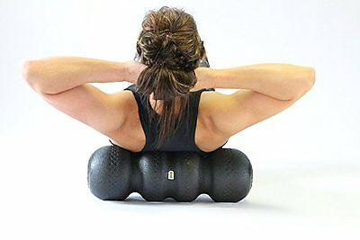 ROLLGA 5-in-1 Foam Roller INCLUDES carry strap CHOOSE color and density firmness