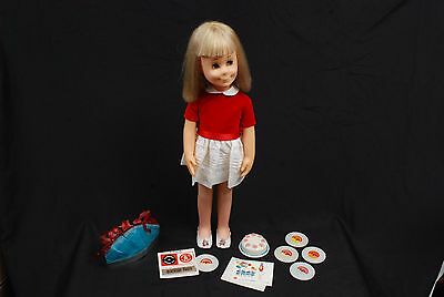 Mattel's Talking Charmin' Chatty Cathy Doll w/ Let's Play Birthday Party Outfit