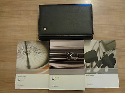 Lexus RX 300 Owners Handbook/Manual and Wallet 00-03