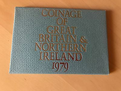 1979 Royal Mint Coinage of Great Britain and N Ireland Proof Coin Year Set