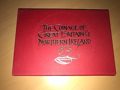 1973 Royal Mint Coinage of Great Britain and N Ireland Proof Coin Year Set
