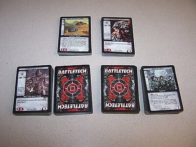 Lot Of 200 Battletech Trading Cards Excellent Condition CCG