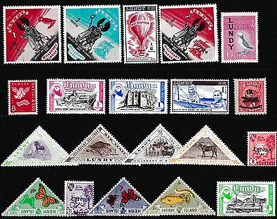 British Commonwealth Stamps,Lundy Stamps,Europa Stamps,Cinderella Stamps