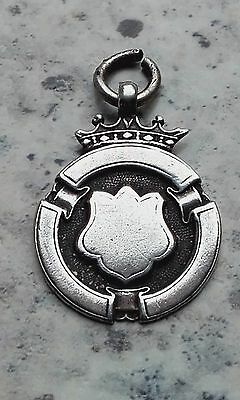 Solid Silver Fob