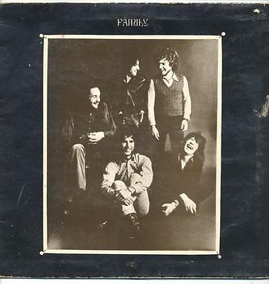 """FAMILY - A SONG FOR ME - 12"""" VINYL LP (Steamboat label, lyric insert)"""