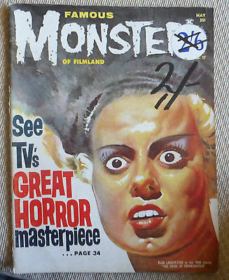Famous Monsters Of Filmland, Vol 4, # 2, May 1962
