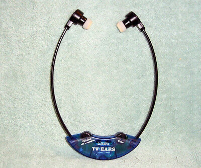 Tv Ears Wireless Replacement Headset 2.3 Mhz With A New Battery Installed