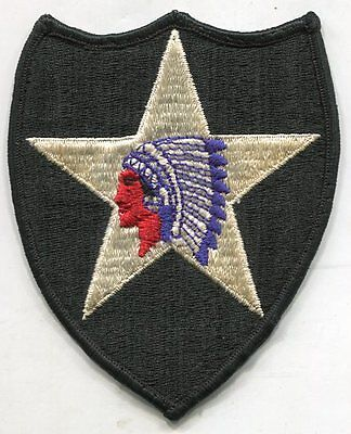 US Army 2nd Infantry Division Color Patch Iron On