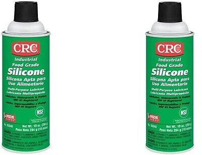 3 CANS CRC Food Grade Silicone Lubricant, (Net Weight: 10 oz