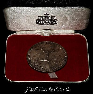 Solid Silver Medal To Commemorate The Return Of S.S.Great Britain 1970- Ref; H/D