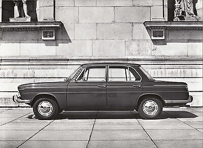 B.m.w. 1500 Four Door Saloon, Period Photograph.