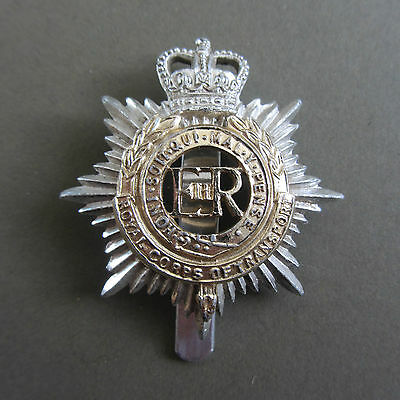A British Army Royal Corps Of Transport Staybright Cap Badge. By Smith & Wright