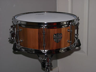 *REDUCED* DSP Drums 13x5.5 Cedar Stave snare drum, Handmade in England.