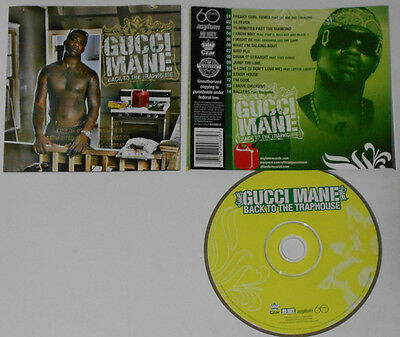 ceebd2f39488 GUCCI MANE - Back To The Traphouse (CD Used Very Good) Explicit ...