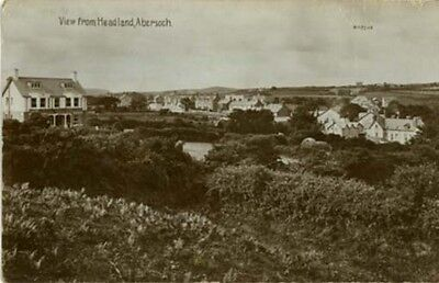 """Anglesey - """"view From Headland, Abersoch"""" - Real Photo Robert's Series 1919."""