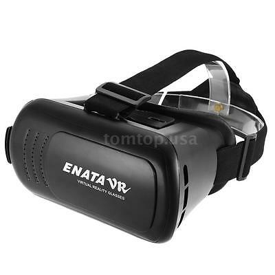 """3D Virtual Reality VR Box Glasses Headset Movie Game For Smartphone 3.5""""-6"""" Q7D2"""