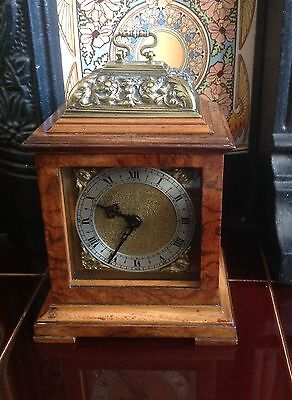 Antique Mantel Clock - Beautiful Ornate Case - Replaced Clock Movement - For Rep