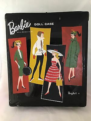 Vintage Barbie Ponytail Vinyl Doll Case 1961