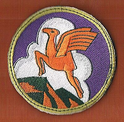 Israel Idf Iaf The Flying Camel  Patch  Velcro Rare