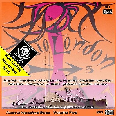 Pirate Radio London [BIG L] Volume 5 (Over 20 Hours on Car MP3 Player Friendly
