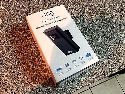 Ring Stick Up Cam HD Wire-Free Outdoor Security Camera & Two Way Audio
