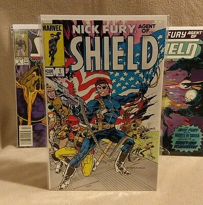 Nick Fury Agent of Shield 1983 Issues 1-5 Steranko