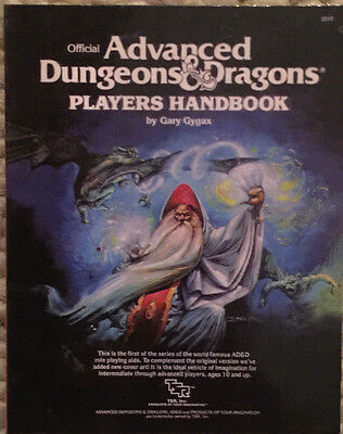 Advanced Dungeons & Dragons Players Handbook 1st Edition by Gary Gygax mini ed.