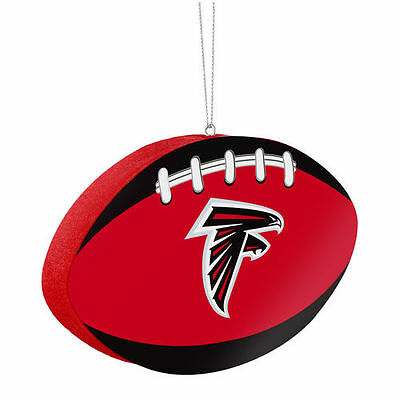 Atlanta Falcons Football Ornament - NFL