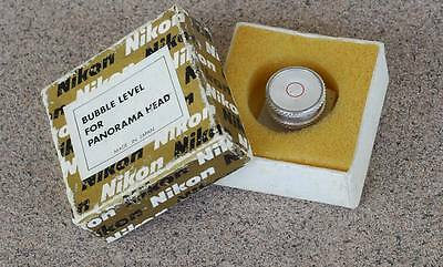 RARE Vintage Nikon Spirit Bubble Level in box - Fits Hot Shoe for Panorama use