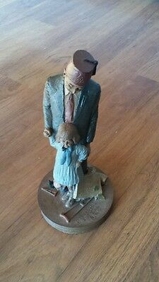 Tom Clark Shriner & hope figurine dated 1987 vintage new old stock collectible