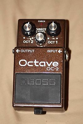 Boss OC-2 Octave Octaver Analog pedal
