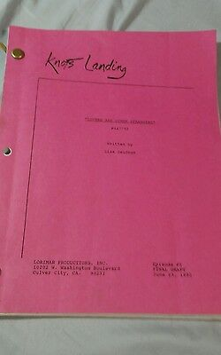 "KNOTS LANDING Script ""LOVERS AND OTHER STRANGERS"" 1992"