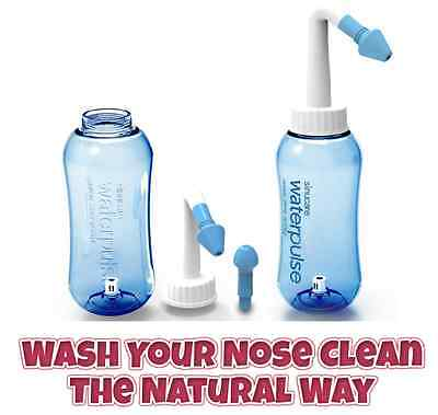 Neti Pot Bottle Nasal Flushing Sinus Wash System Sinu-cleanse Detox Yoga 500ml
