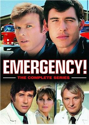 EMERGENCY COMPLETE SERIES New DVD Seasons 1-6 1 2 3 4 5 6 + The Final Rescues